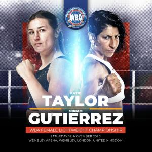 Taylor and Gutierrez showed mutual respect at their press conference