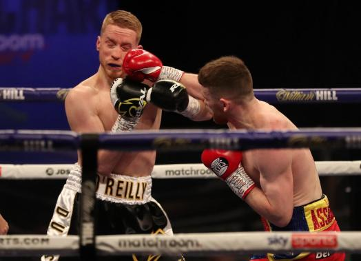 Tennyson knocked out O'Reilly in WBA title eliminator