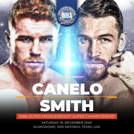 Canelo and Callum will close 2020 with a luxury fight for the WBA belt