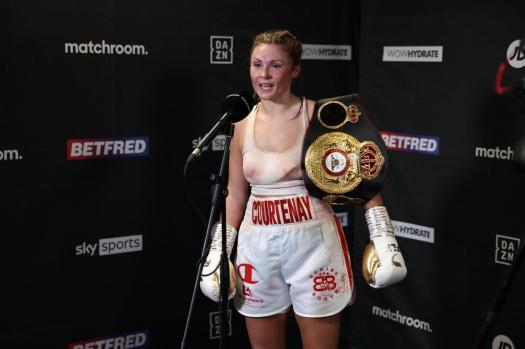 Shannon Courtenay es la nueva campeona gallo WBA