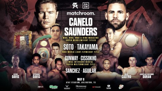 Soto, Sanchez, and Conway lead Canelo-Saunders undercard
