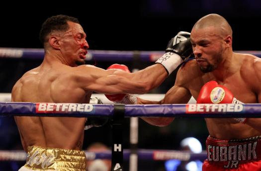 Eubank Jr. returned to the ring in a dominant way against Morrison