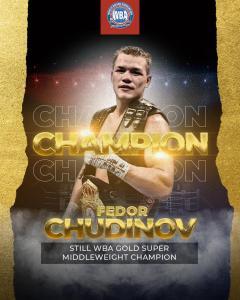 Fedor Chudinov retained his WBA-Gold belt in a war against Liebenberg