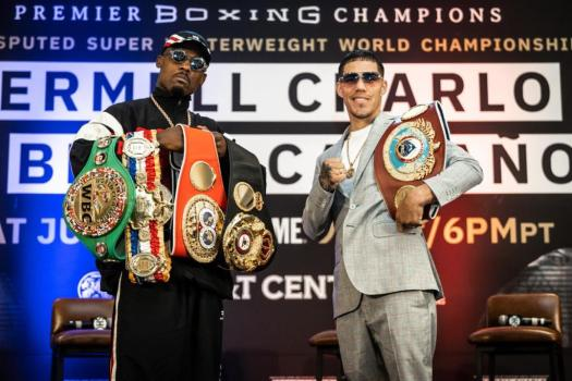 Charlo and Castaño were confident at press conference