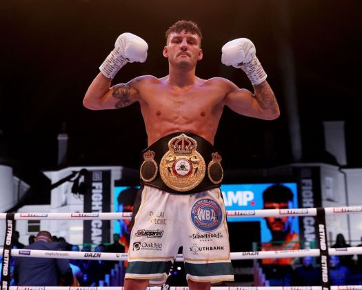 Wood demolished Can Xu and is the new WBA Featherweight Champion