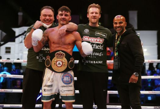 """""""WBA Ranking with presence of fighters from the five continents"""