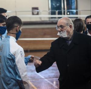 Argentina despide al Presidente de la Federación de Boxeo, Luis Romio