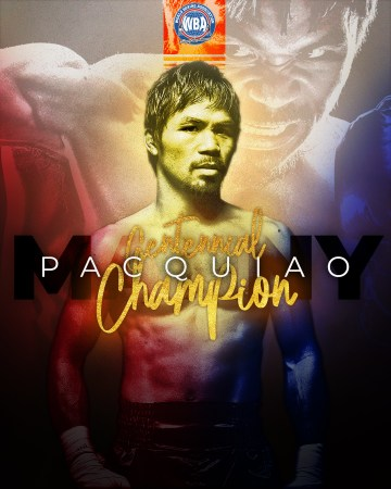 Manny Pacquiao named WBA Centennial Champion