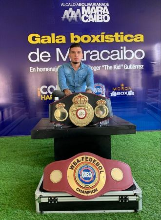 Boxing gala to pay tribute to Roger Gutierrez in his native Maracaibo