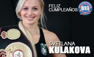 Feliz Cumpleaños a Svetlana Kulakova