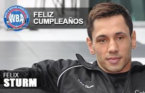 Felix Sturm Feliz Cumpleaños
