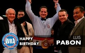 Happy Birthday Luis Pabón