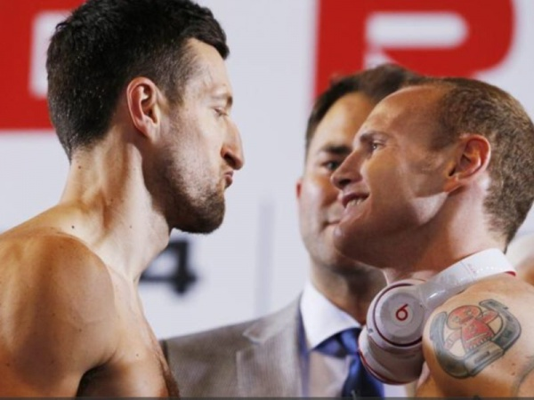 Froch - Groves Weigh-in
