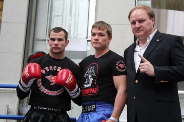 Nielsen y Chudinov Mostrando sus movimientos