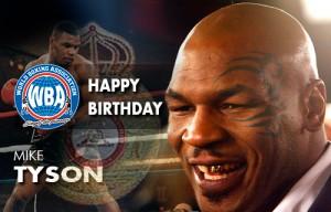 Happy birthday to Mike Tyson former WBA Heaiweight Champion