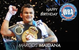 """Happy  birthday """"Chino"""" Maidana"""