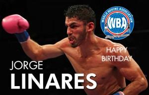 Happy birthday Jorge Linares
