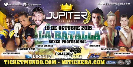 Jorge Linares hasn't fought at El Poliedro since January 2004, when he decisioned Hugo Rafael Soto.