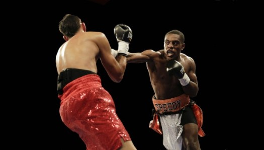 "WBA Fedecentro welterweight champion Rashidi ""Speedy"" Ellis signed with Golden Boy Promotions. (Photo: Courtesy)"