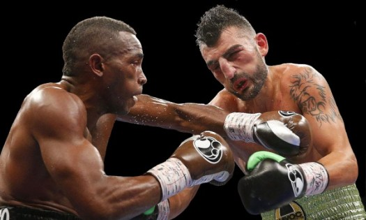 Lara fights with the cool efficiency of a boxing technocrat. And he looks unbeatable. (Photo: John Locher/AP)