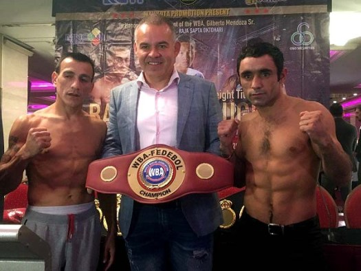 """Caril Herrera says he plans """"to leave everything in the ring, as the people who know me expect."""""""
