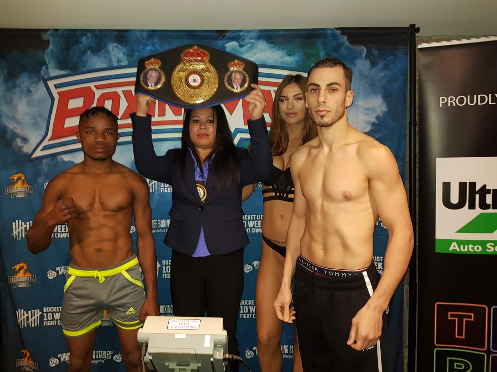 Fighters Make Weight