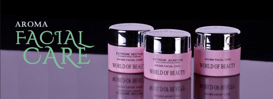 Italian cosmetics Aroma facial creme