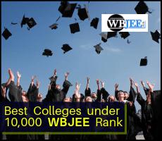 Best Colleges 10,000 WBJEE Rank