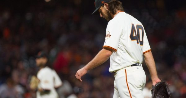 San Francisco Giants 2018 Rotation Madison Bumgarner