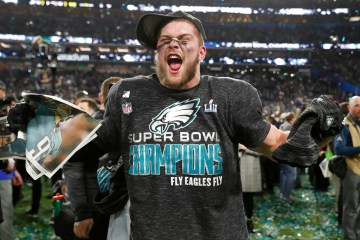 NFC East Philadelphia Eagles Super Bowl Champs