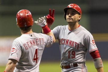 Cincinnati Reds rough 2018