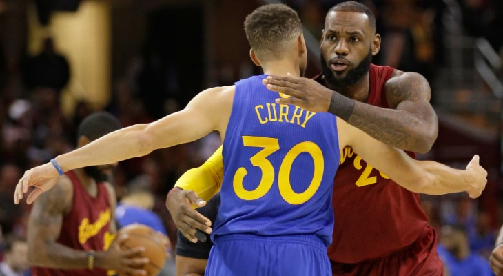 LeBron James Stephen Curry Endorsements