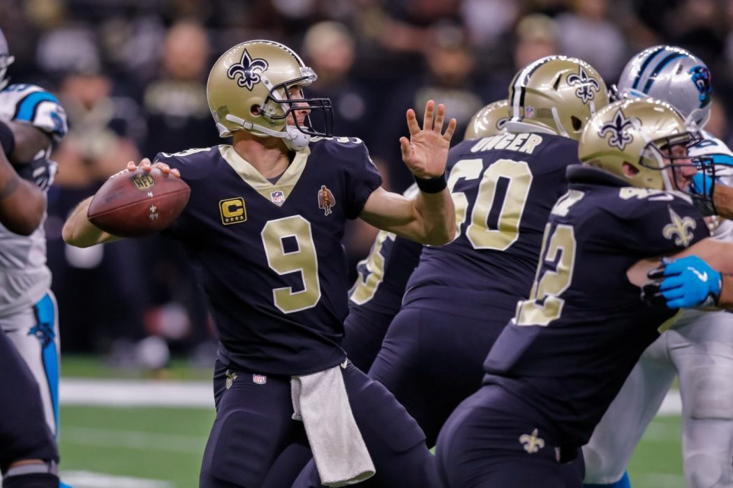 DFS: FanDuel Divisional Round, Brees and Saints WRs Provide High Likelihood of Success