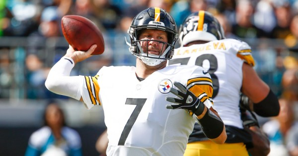 Ben Roethlisberger Antonio Brown Pittsburgh Steelers