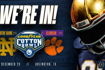 Cotton Bowl Notre Dame Fighting Irish vs Clemson Tigers