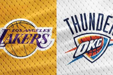 NBA Los Angeles Lakers at Oklahoma City Thunder