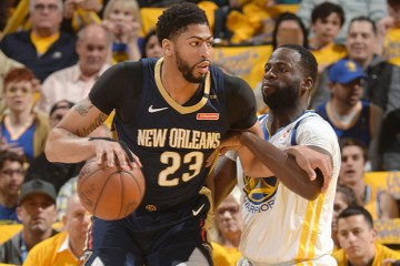 NBA New Orleans Pelicans at Golden State Warriors