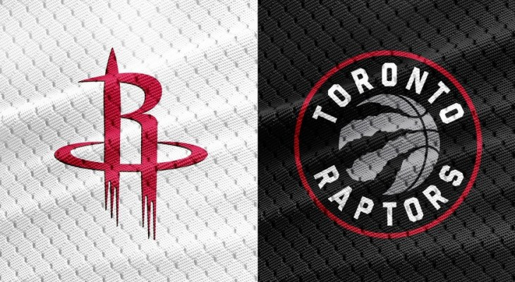 NBA Houston Rockets Toronto Raptors