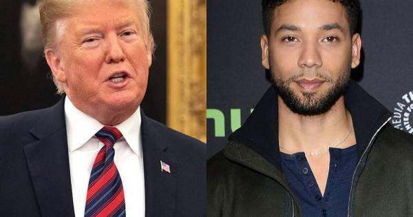 Jussie Smollett Donald Trump Media