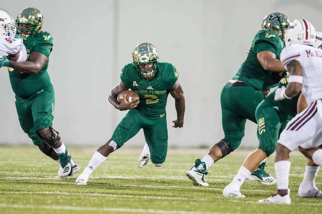 USF Bulls Player Profile: Running Back - Jordan Cronkrite