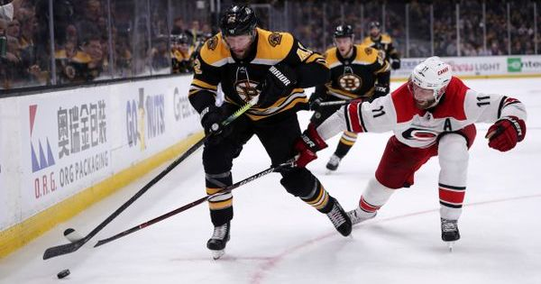 Boston Bruins Carolina Hurricanes