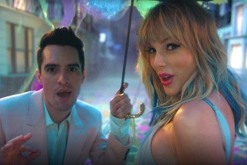 Taylor Swift and Brendon Urie ME!