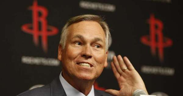 Houston Rockets Mike D'Antoni