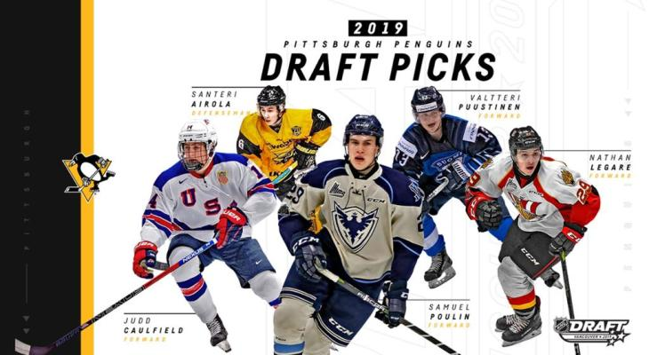 Pittsburgh Penguins 2019 Draft Class