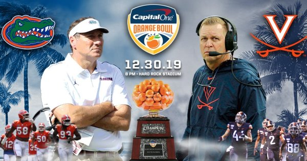 Capital One Orange Bowl Gators Cavaliers