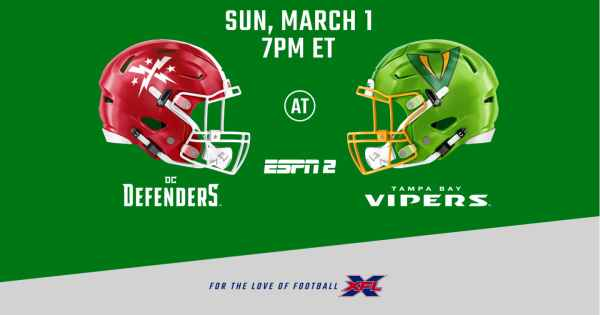 XFL Vipers Defenders