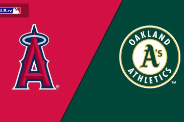 MLB Angels Athletics