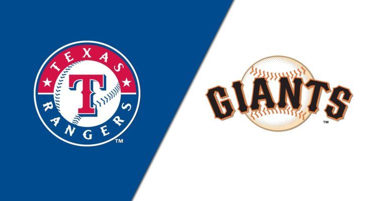 MLB Rangers Giants