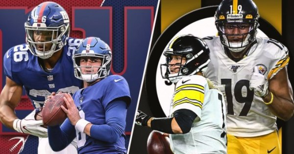 NFL MNF Steelers Giants