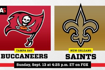 NFL Bucs Saints
